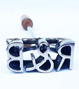 Marcador Simples com 3 letras