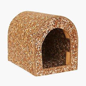 Casinha de Roedor Recriar Pet Ecológica para Mini Coelho e Chinchila