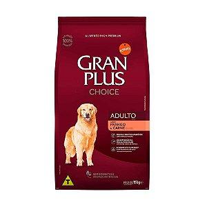 Ração Guabi GranPlus Choice Frango e Carne para Cães Adultos - 15kg