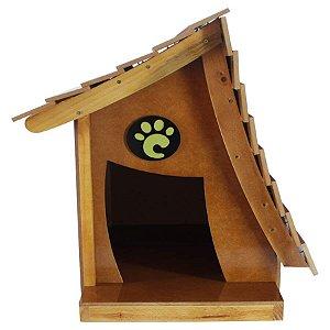 Casa Carlu Pet Crooked para Cães