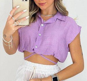 Cropped Camisa - Vegas
