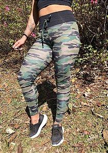 Legging de Cordão - Militar