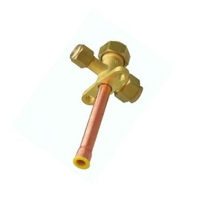 Válvula de Serviço 3/8 para Ar Condicionado Gás R410A