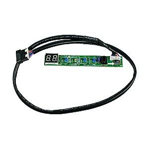 Placa Receptora Evaporador 2013327A0362 Ar Condicionado 18000 22000 BTUsCarrier Midea