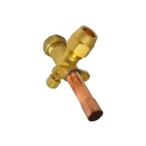 Valvula Serviço 5/8 R22 07404040 Ar Condicionado 18000 - 36000 BTUsCarrier Springer Midea