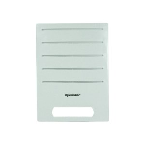 Painel Frontal GW13704035 Ar Condicionado Janela 7500 - 10000 BTUs Springer Duo Eletrônico