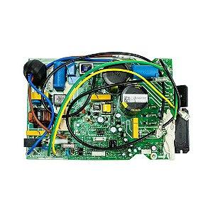 Placa Eletrônica Principal Condensadora Inverter 201337390154 Ar Condicionado 12000 BTUs 220v Midea Carrier