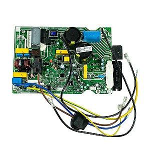 Placa Principal Condensador 201337390155 Ar Condicionado 9000 BTUs Inverter Carrier Midea