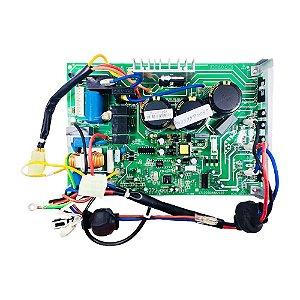 Placa Principal Condensador 201337790035 Ar Condicionado 18000 BTUs Inverter Carrier