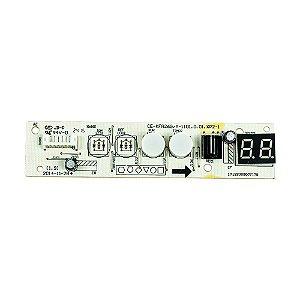 Placa Receptora Evaporador 2013323A0915 Ar Condicionado 7500 BTUs Springer Admiral