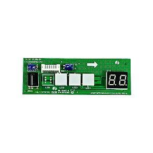 Placa Receptora Evaporador 2013325A0424 Ar Condicionado 7500 - 12000 BTUs New Carrier