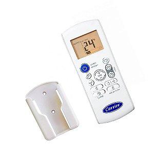 Controle Remoto 41014045 com suporte Ar Condicionado Piso Teto Carrier RG57