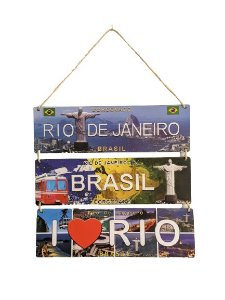 Placa  Rio Trio Corda