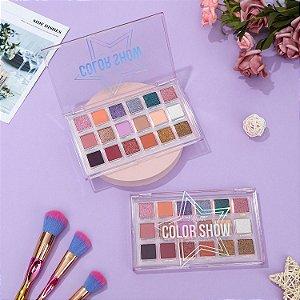 Paleta de Sombras Color Show 18 Cores Mylife Cosméticos