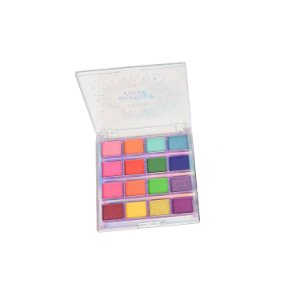 Paleta de Sombra Glamour Color 16 Cores Mylife