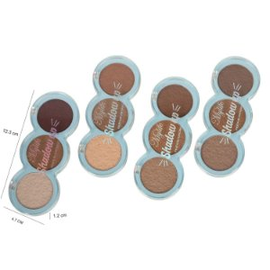 Paleta de Contorno Shadow Up 3 cores Mylife