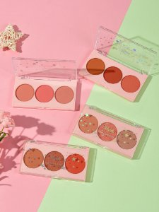 Paleta de Blushes 3 cores Mylife