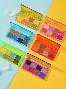 Paleta de Sombra Super Pigmentado 8 cores Mylife