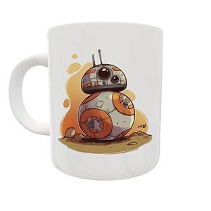 Caneca Coleção Star Wars - BB8