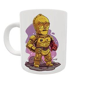 Caneca Coleção Star Wars - C 3PO