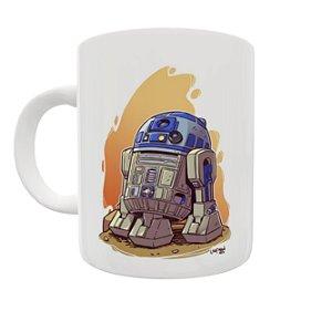 Caneca Coleção Star Wars - R2D2