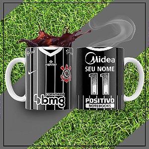 Caneca Times de Futebol - Corinthians