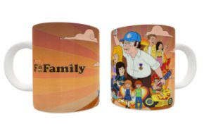 Caneca F is For Family