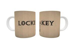 Caneca Lock & Key