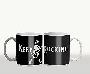 Caneca Keep Rocking