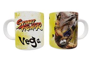 Caneca Street Fighter Vega