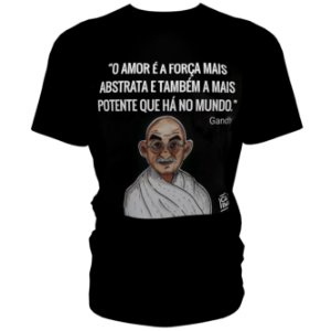 Camiseta CABA (Algodão) - Ghandi
