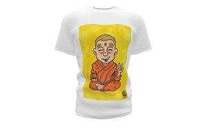 Camiseta CABA (Algodão) - Monge Peace