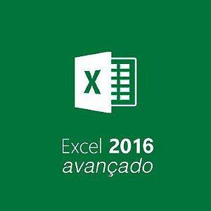 Curso Excel 2016 avançado