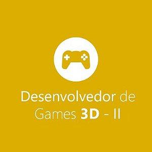 Desenvolvedor de Jogos em 3D - II