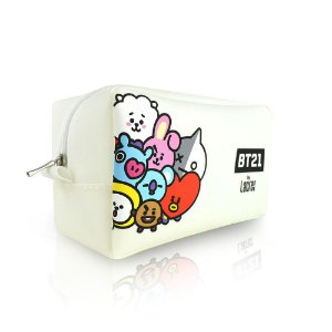 BT21 NECESSAIRE OFF WHITE