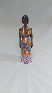 Boneca em cerâmica