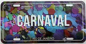 Placa Carnaval