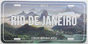 Placa Rio montanhas