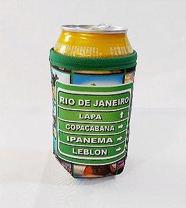 Porta latas Placa