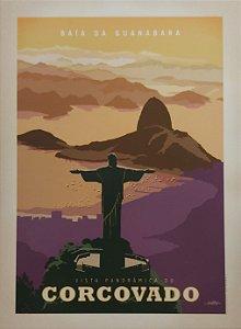 Placa decorativa Baía de Guanabara
