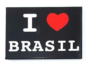 Imã I LOVE BRASIL