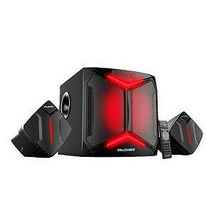 Caixa de Som Gamer Com Bluetooth 100W RMS