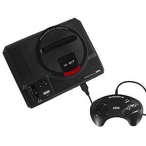 Console Mega Drive Tec Toy + 1 Controle + 22 Jogos na Memória (expansível até 594 jogos)
