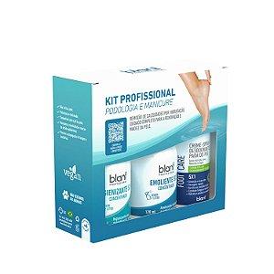 Kit Profissional Podologia e Manicure - Vegano