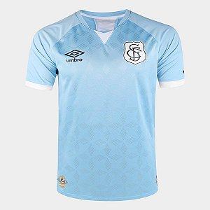 Camisa Santos III 20/21 s/n° Torcedor Umbro Masculina - Azul e Branco