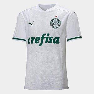 Camisa Palmeiras Puma II 20/21 Branca
