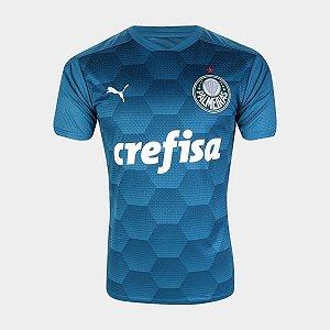 Camisa de Goleiro Palmeiras II 20/21 s/n° Torcedor Puma Masculina - Azul
