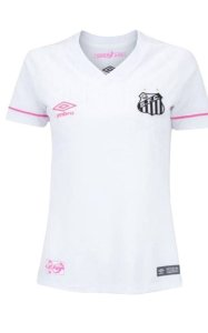 Camisa Santos Umbro I Sereias 2018 Feminina Branca