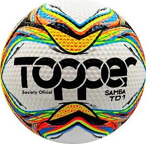 Bola Futebol Society Samba TD1 Topper