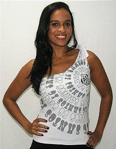 Blusa Feminina Santos Ombro Único Braziline